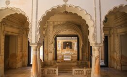 Free Historic Paigah Tombs Architecture In Hyderabad, India Royalty Free Stock Images - 214931779