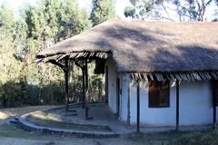 Historic palace in Addis Ababa Royalty Free Stock Images