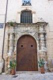 Historic palace. Monopoli. Puglia.Italy. Royalty Free Stock Photos