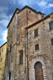 Historic palace. Perugia. Umbria. Royalty Free Stock Image