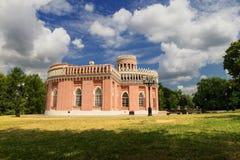 Historic palace in Tsaritsino park Royalty Free Stock Photos