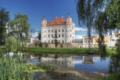 Historic Palace in Wojanow Royalty Free Stock Photography