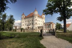 Historic Palace in Wojanow Royalty Free Stock Image