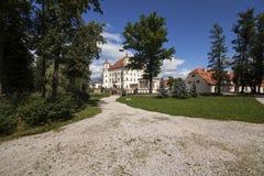 Historic Palace in Wojanow Royalty Free Stock Photos