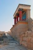 Knossos. Historic palais of Knossos on Crete Royalty Free Stock Photos