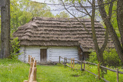 Historic panting cottage Royalty Free Stock Images