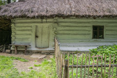 Historic panting cottage Stock Photos