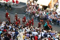 Historic parade Royalty Free Stock Image