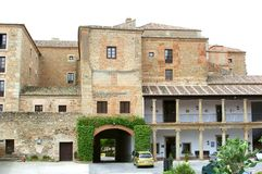 Historic Parador Hotel,Oropesa,Spain Stock Photo