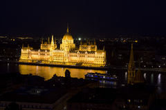 Historic parliament of Hungary in Budapest Royalty Free Stock Image