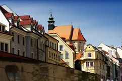 Historic part of Bratislava Stock Photography