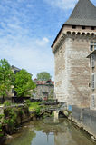 Historic part of the French city Pau Royalty Free Stock Images