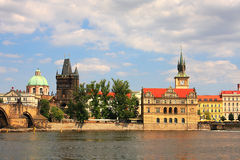 Historic part of Prague. Royalty Free Stock Image