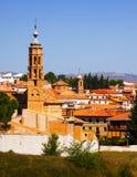 Historic part of Tarazona. Zaragoza,  Aragon, Spain Royalty Free Stock Images