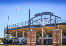 Historic Paterson Field Erected 1949. Historical Paterson Field, home of several Montgomery, Alabama minor-league professional baseball teams including 1965–80 Royalty Free Stock Photography