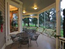 Historic patio Royalty Free Stock Photo