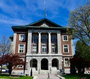 Historic Penobscot County Courthouse. This is a Spring picture of the historic Penobscot County Courthouse located in Bangor, Maine in Penobscot County.  This Royalty Free Stock Image