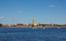 Historic Peter and Paul Fortress Stock Photo