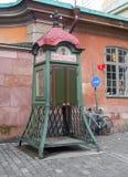 Historic phone box Stock Image