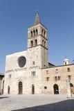 Historic Piazza Silvestri in Bevagna Royalty Free Stock Image