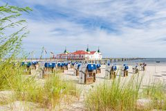 Beach on the Baltic Sea Royalty Free Stock Photography