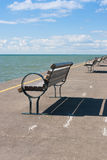 The historic pier in Port Dalhousie,Canada Stock Photography