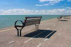 The historic pier in Port Dalhousie,Canada Royalty Free Stock Photos
