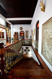 Historic Pinang Peranakan Mansion in Georgetown, Penang. Penang,Malaysia- December 29, 2011 : Staircase of the Pinang Peranakan Mansion in Georgetown, Penang Stock Photos