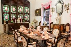 Historic Pinang Peranakan Mansion Stock Image