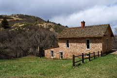 Historic Pioneer Homestead House Royalty Free Stock Photos