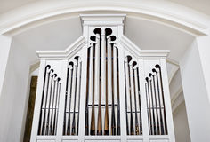 Historic pipe organ Royalty Free Stock Photo