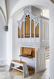 Historic pipe organ Royalty Free Stock Image