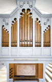 Historic pipe organ Stock Photo