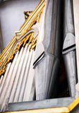 Historic pipe organ Royalty Free Stock Image