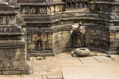 Historic place of water extraction in Bhaktapur town. Stock Photo