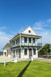 Historic Plaquemine Lockhouse Stock Photo