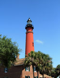 Historic Ponce De Leon lighthouse Stock Photo