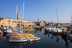The historic port of Acre, Akko Royalty Free Stock Photos