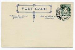 Historic post card Stock Image