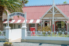Historic Post Office building in Matjiesfontein Stock Images