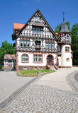 Historic Post Office,Thuringian Forest Stock Photo