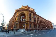 Historic postfuhramt building berlin germany. The historic postfuhramt building berlin germany Stock Photo