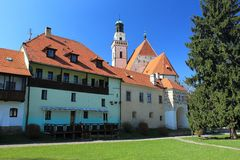 Historic Prachatice Royalty Free Stock Images