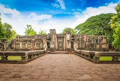 Historic Prasat Hin Phimai Castle at Nakhon Ratchasima Province, Stock Photos