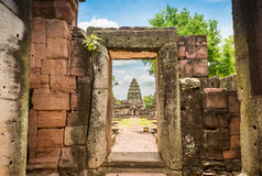Historic Prasat Hin Phimai Castle at Nakhon Ratchasima Province, Stock Photography