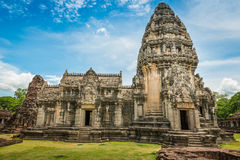 Historic Prasat Hin Phimai Castle at Nakhon Ratchasima Province, Royalty Free Stock Photos