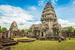 Historic Prasat Hin Phimai Castle at Nakhon Ratchasima Province, Stock Image