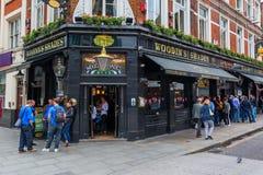 Historic pub in London, United Kingdom Stock Photography