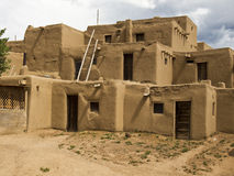 Historic Pueblo Building Stock Photo