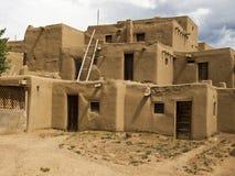 Historic Pueblo Building Stock Photo